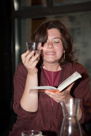 Nora Gomringer am Salonpalaver