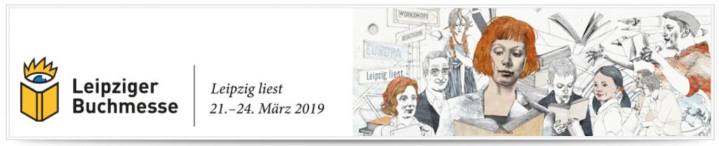 Leipziger Buchmesse - Banner für Festivalplan