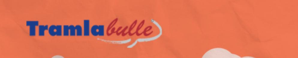 Tramlabulle Banner für Festivalführer